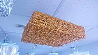 Люстра лед Алюминий  500*500мм  золото, фото 1