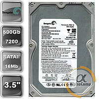 "Жесткий диск 3.5"" 500Gb Seagate ST3500630AS (16Mb/7200/SATAII) б/у"