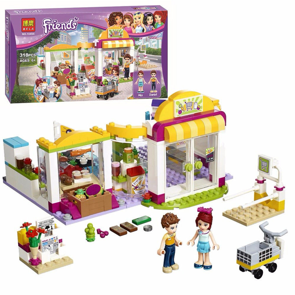 "Конструктор Bela Friends ""Супермаркет"" арт. 10494 (аналог LEGO Friends 41118)"