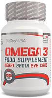 Жирные кислоты BIOTECH OMEGA-3 90 КАПСУЛ