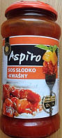 Соус Aspiro Slodko Kwasny (Аспиро кисло - сладкий соус) 520 г. Польша