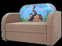 Детский кресло диван кровать с коробом для хранения Рио Маша и медведь