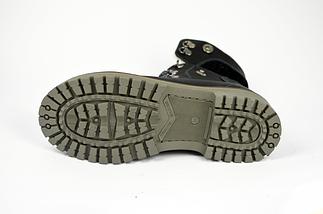 Ботинки женские кожаные МИДА 24414-03 черные., фото 3
