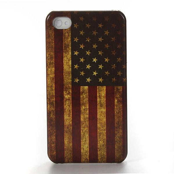 Чехол ретро флаг для телефона Apple iPhone 4/4S