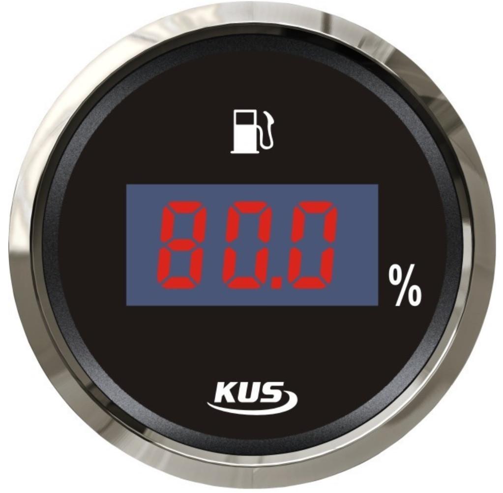 Датчик уровня топлива для лодки цифровой, черный Wema Kus