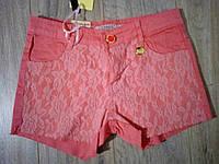 Шорты котоновые для девочки р.140-164 Grace 140, розовый