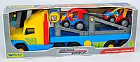 "Трейлер с автомобилями ""Super Truck"" ""WADER"" арт. 36630"