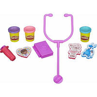 Набор для творчества и пластилин Доктор Плюшева Play-Doh