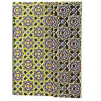 """Блокнот - ежедневник """"узоры"""" (арабский, геометрия), недатированный, на магнитном клапане, формат А6. NB1026146, фото 1"""