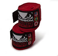 Бинты боксерские Bad Boy 3,5m Red