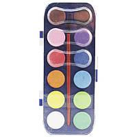 Краски для рисования на бумаге SAT, 12 цветов. SQ102636, фото 1