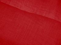 """Льняная """"марля"""" для декорирования интерьеров, пошива гардин и штор (красный)"""
