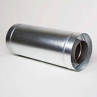 Вставка трубы из оцинковки 0,5м.150*220мм