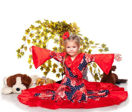 """Детский карнавальный костюм """" Цыганки """", фото 2"""