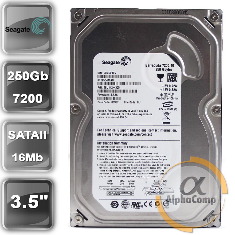 "Жесткий диск 3.5"" 250Gb Seagate ST3250410AS (SATA) БУ"
