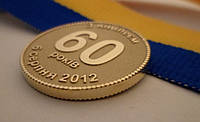 Золотые медали на заказ