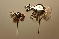 Изготовление значков, брелков, запонок из золота и серебра