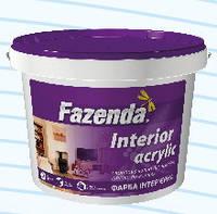 Краска интерьерная стойкая к мытью Фазенда Interior acrylic