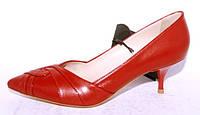 Красные Итальянские туфли