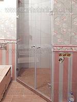 Стеклянные  двери для душа из каленого стекла, фото 1