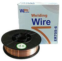 ER70-0845 Проволока сварочная WeldingPlanet ф0.8мм, D200-5
