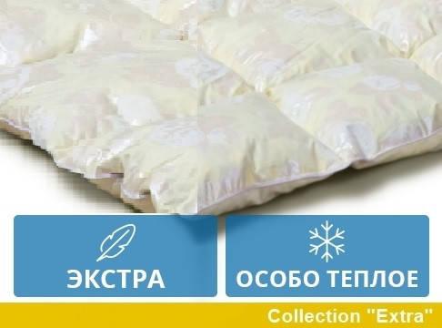 Одеяло двуспальное пуховое Зимнее 172x205 гусиный пух Екстра 042.21, фото 2