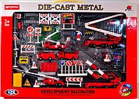 Игровой набор «Пожарная машина металл» MS6603