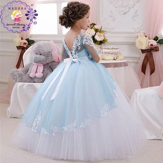 Детские нарядные платья для девочек оптом в магазине malyava.com.ua