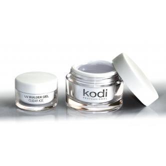 Kodi Uv Builder Gel Clear ice (прозрачный конструирующий гель) 14 мл.
