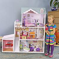 Кукольный дом с гаражом  Beverly Hills ECOTOYS, фото 1