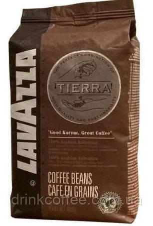 Кава в зернах Lavazza TIERRA, 100% Арабіка, Італія, 1 кг