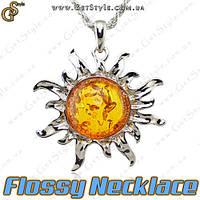 """Украшение на шею - """"Flossy Necklace"""", фото 1"""