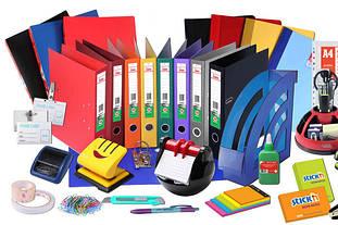 Канцтовары, бумага, товары для офиса, сувениры.