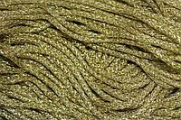 Шнур люр. 6мм.(100м) золото , фото 1