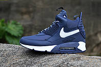 Nike Air Max 90 SneakerBoot Blue/White