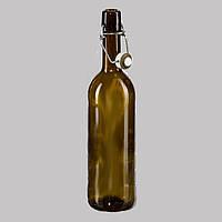 Бутылка стеклянная для вина под бугельную крышку 750мл