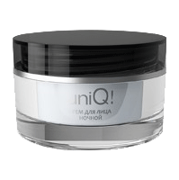 Ночной крем UniQ- обладает большим восстанавливающим потенциалом, устраняет признаки старения во время ночного