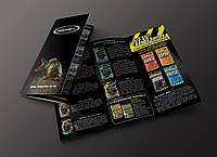 Дизайн печать рекламных буклетов