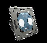 Механизм сенсорного проходного выключателя Livolo 2-канальный, Radio, фото 2