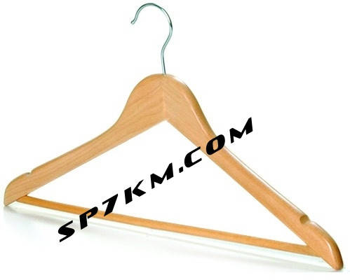 Плечики-вешалка деревянная, универсальная, фото 2