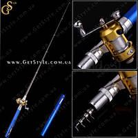 """Телескопическая мини-удочка - """"Fishing Pen"""" - 21 см., фото 1"""