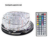 Светодиодная гирлянда дюралайт LED SMD 5050, 5 м. - Led подсветка витрин, фото 6
