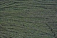 Шнур 4мм (200м) черный+золото , фото 1