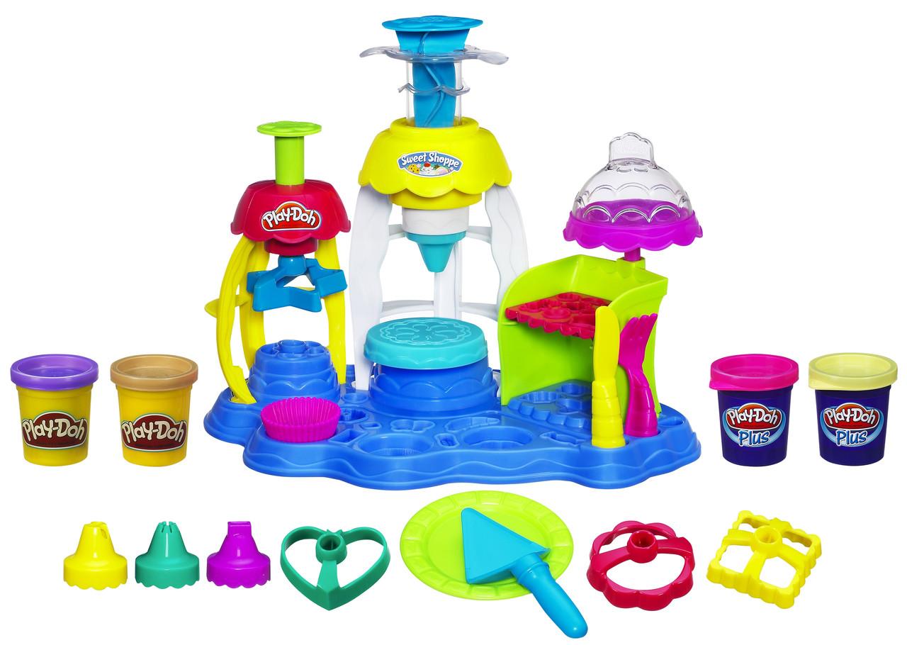 """Творчество и рукоделие «Hasbro» (A0318) набор для лепки """"Фабрика пирожных"""""""