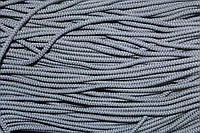 Шнур плотный 4мм (100м) св.серый , фото 1