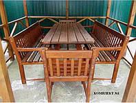Комплект мебели для беседки, сада №1. Ручная работа.