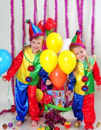 Детский новогодний костюм Петрушки , фото 2