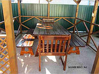 Комплект мебели для беседки, сада №2. Ручная работа.