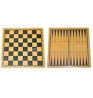 Доска ламинированная для шашек,шахмат и нард Q44х44