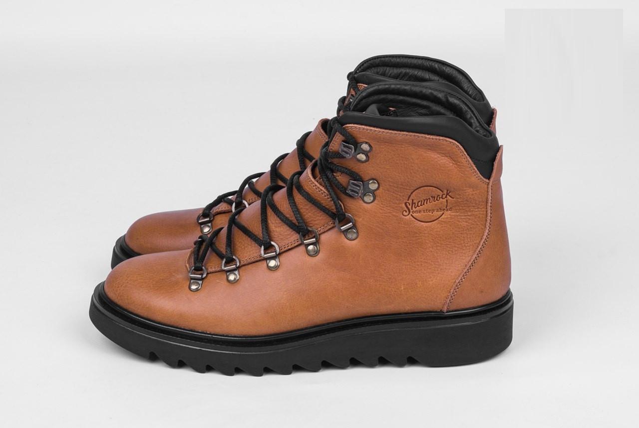 Зимове взуття Shamrock - Everest Brown (Зимние  кеды ботинки обувь тимберленд) ee2eb1432a255